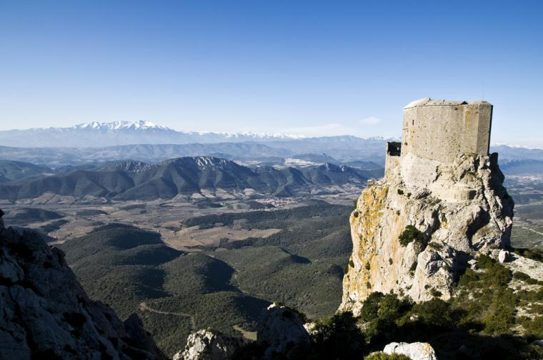Le château de Quéribus - crédit Guy Banyuls - Agly Tourisme