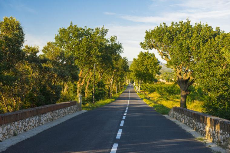 Sur la route du Pays d'Agly - crédit Lionel Moogin - Agly Tourisme