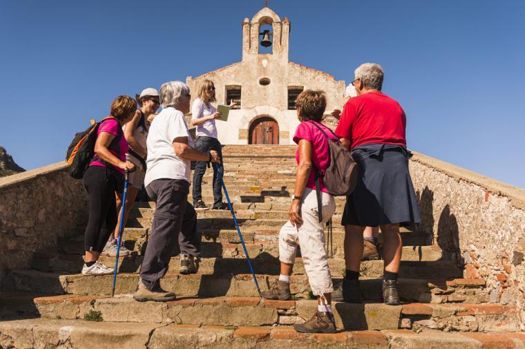 Visite de l'Ermitage - crédit Lionel Moogin - Agly Tourisme