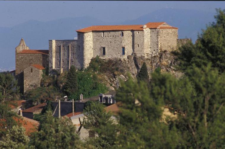 Le village de Bélesta - crédit Château-Musée de Bélesta