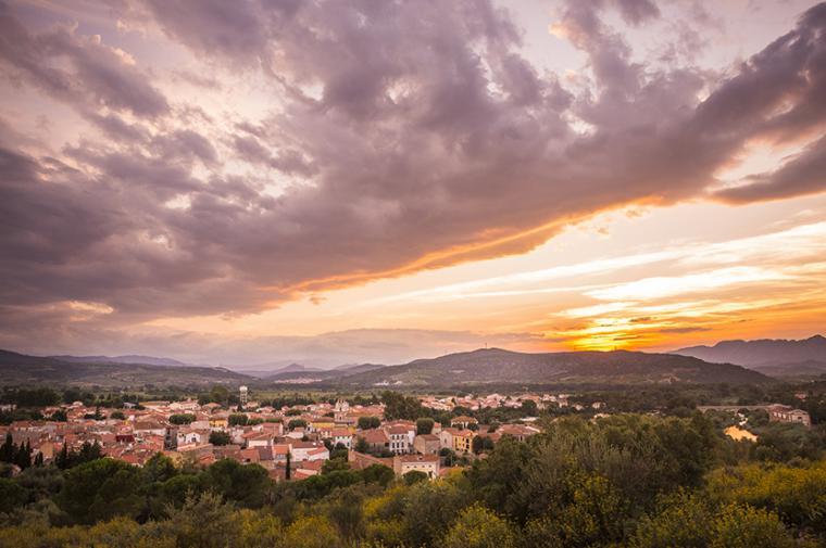 Village d'Estagel - Crédit Lionel Moogin - Agly Tourisme