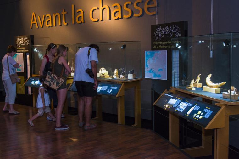 Salle du musée de Tautavel -  crédit Lionel Moogin - Agly Tourisme